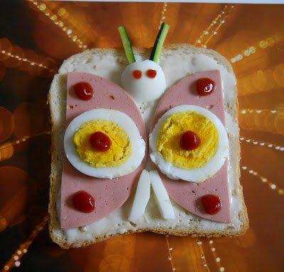 otletek gyereknapra Kreativ szendvics