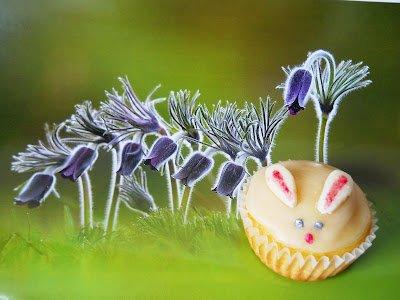 otletek gyereknapra Nyuszi muffin