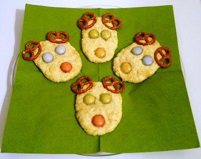 otletek gyereknapra Renszarvas keksz