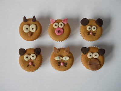 Muffin allatkert otletek gyereknapra