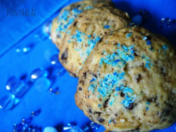 amerikai csokis keksz american chocolate chips cookie