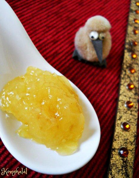ananászos cukkinidzsem