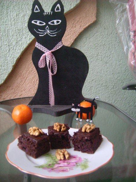 meggyes csokis piskóta