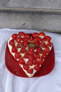 citromos ricottakrémes torta szív valentin