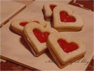 szív linzer valentin