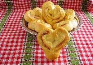 sonkás sajtos szív valentin