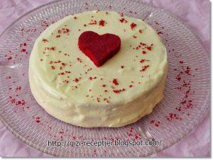 red velvet vörös bársony szív valentin