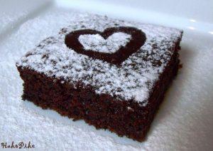 céklás kakaós villámsüti szív valentin