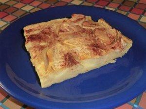 sütőben sült almás palacsinta