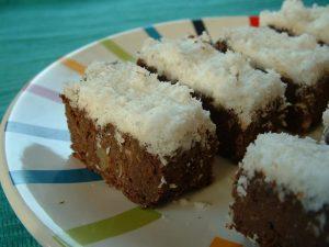 behavazott brownie