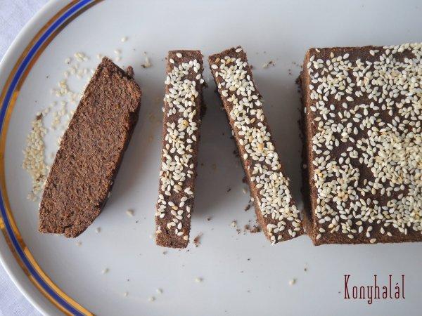 mogyorós-lenmaglisztes kenyér gluténmentes