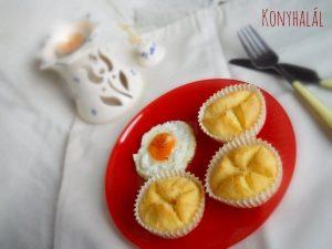 rizslisztes kenyérke muffinforma