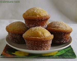 cukorfánk muffinforma