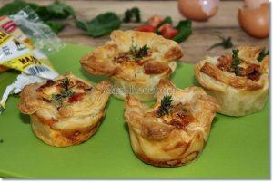 spenótos tojásos kosár muffinforma