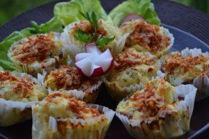 sonkás karfiol muffin muffinforma