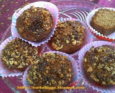 almás-diós diabetikus muffin