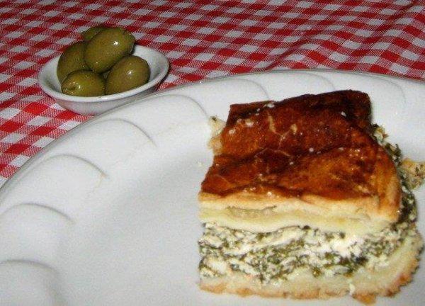 spanakopita görög