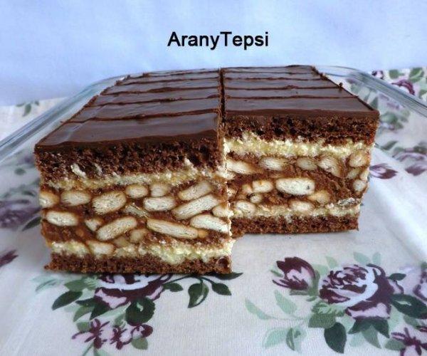 gesztenyés-kekszes süti