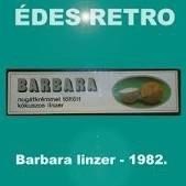 Barbara töltött kókuszos keksz retro