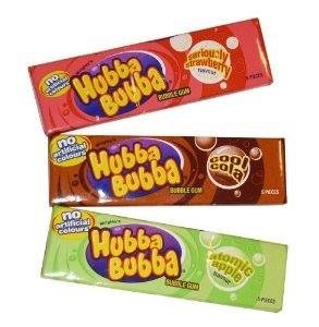 Hubba Bubba rágó retro