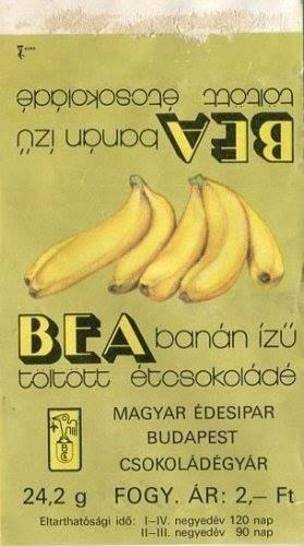 Bea csoki banános retro