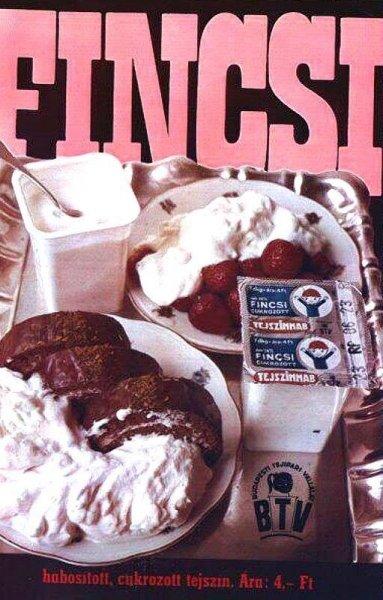 Fincsi tejszínhab retro