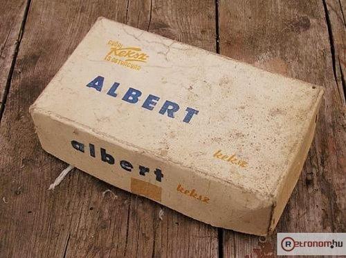 Albert keksz retro