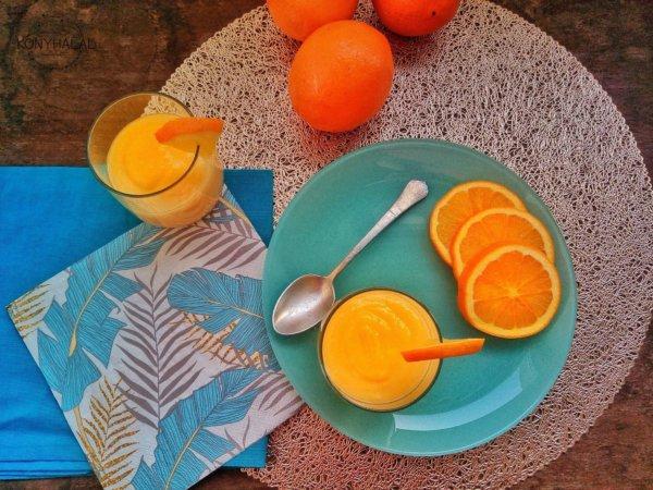 Orange curd